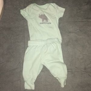 Unisex baby outfit
